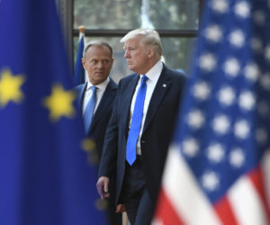 BELGIUM-US-EU-NATO-DEFENCE-POLITICS-DIPLOMACY-MEETING